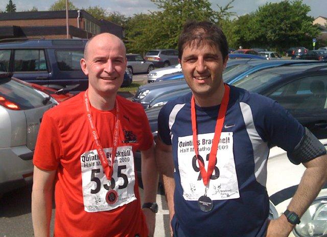 2009 Bracknell Half Marathon