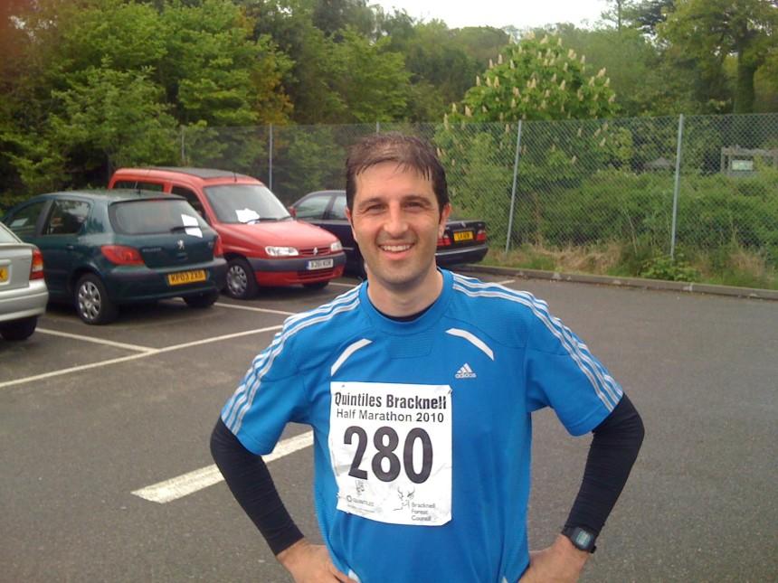 2010 Bracknell Half Marathon