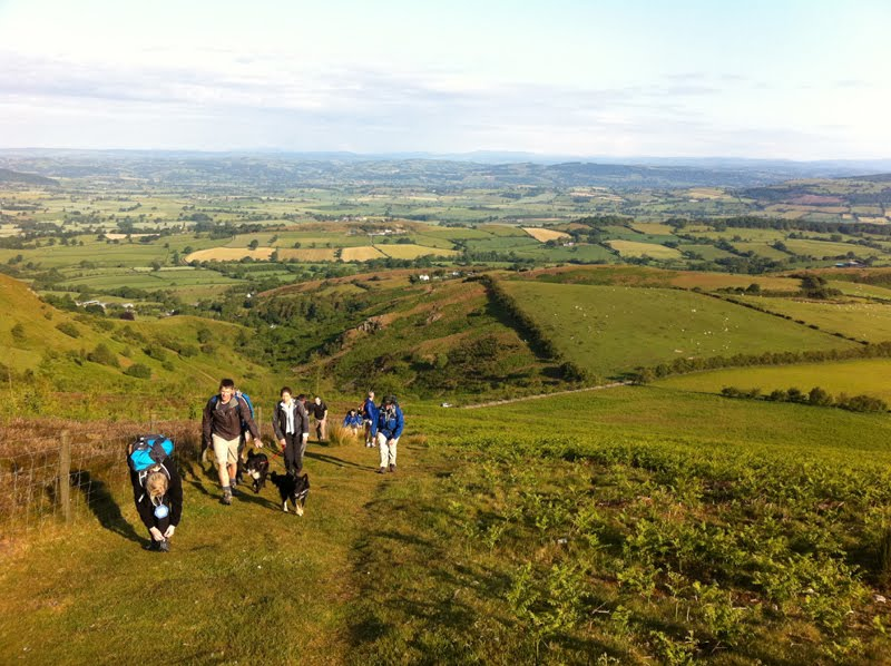 2011 Shropshire Six Summits Hike