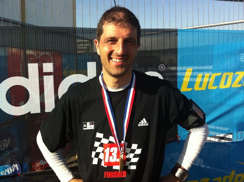 2012 Silverstone Half Marathon
