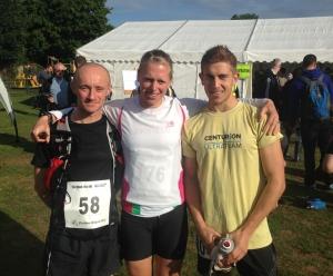 2013 Farnham Marathon Edwina Sutton Paul Navesey