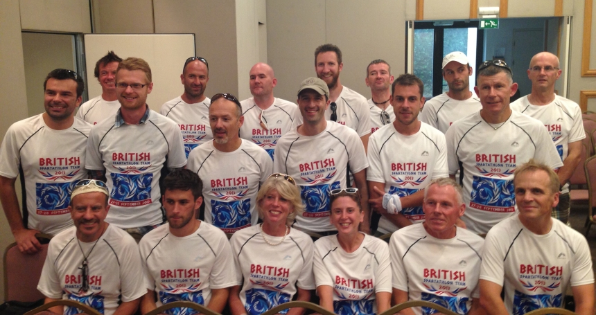 2013 Spartathlon British Spartathlon Team 02