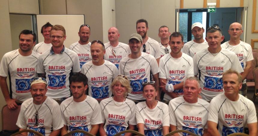 2013 Spartathlon British Spartathlon Team 02