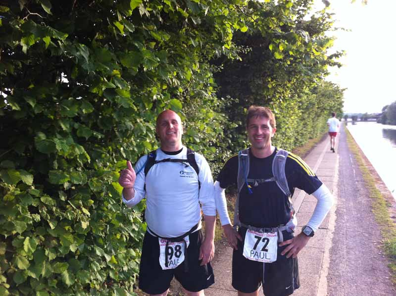 2011 Grand Union Canal Race Paul Ali & Paul Stout 03