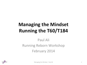 Ultra Running Managing the Mindset Slide Paul Ali 01