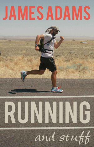 James Adams Running & Stuff The Book Image