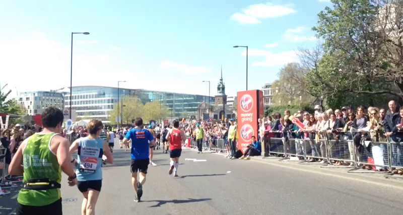 2014 London Marathon Vid 14