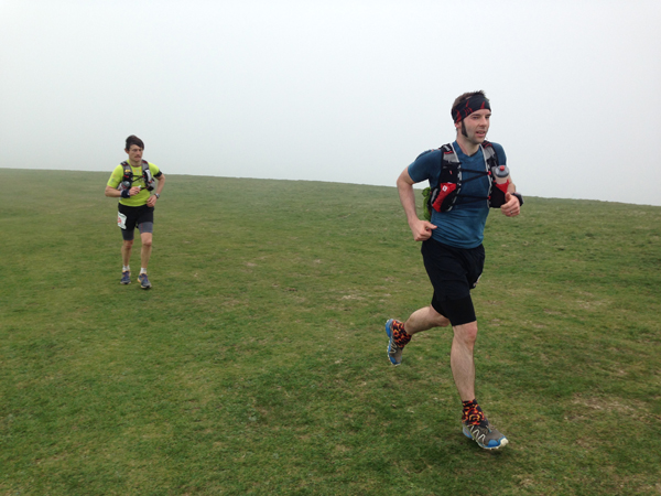 2014 South Downs Way 50 Sam Robson Paul Radford