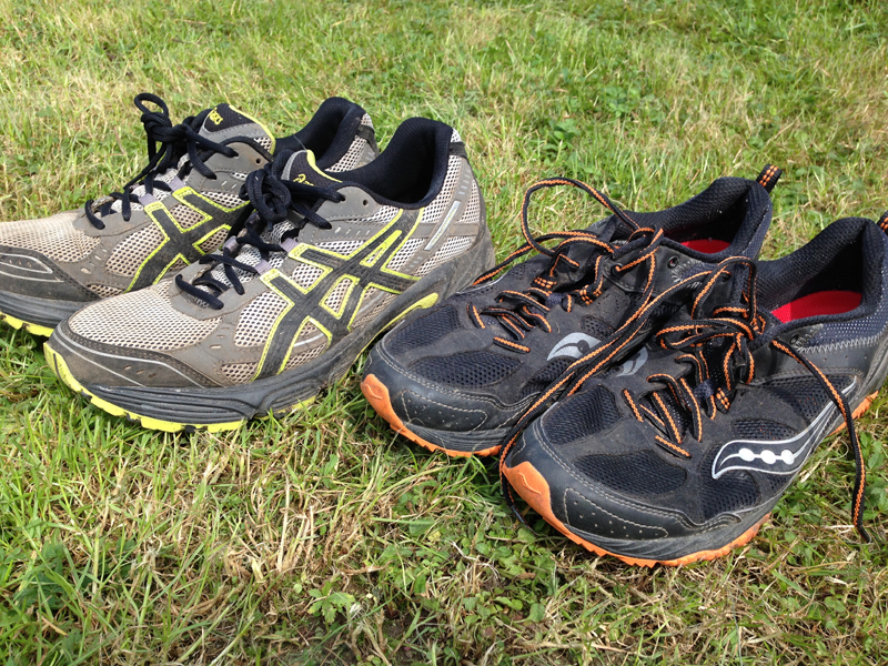 2014 Running Shoes Paul Ali - Saucony & Asics Trail