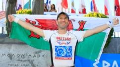 Paul completing the 2013 Spartathlon