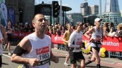 2014 London Marathon Paul Ali