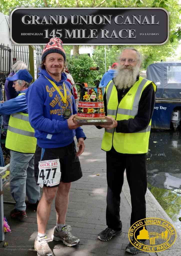 2014 Grand Union Canal Race Pat Robbins Dick Kearn