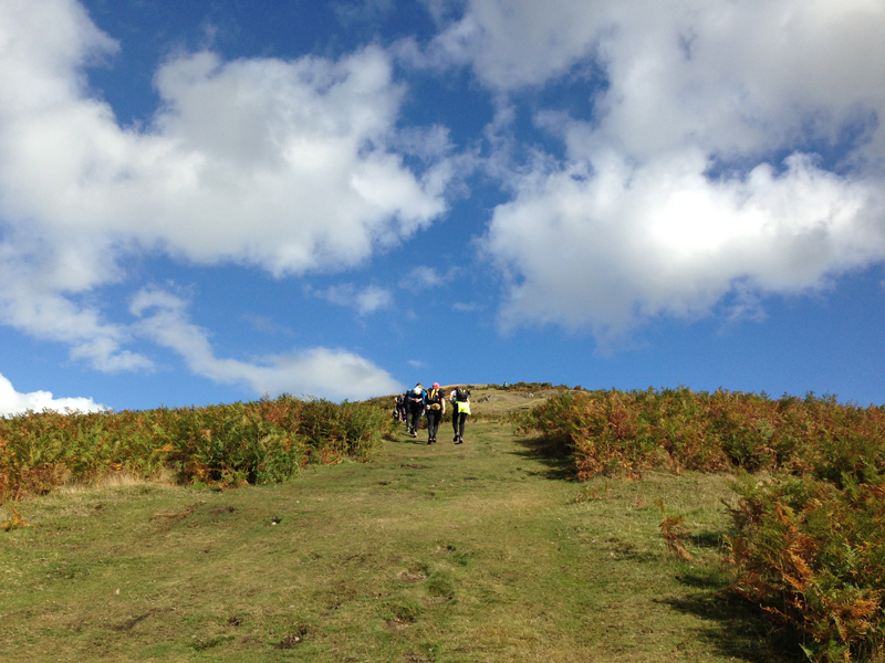 2014 Longmynd Hike Paul Ali 09
