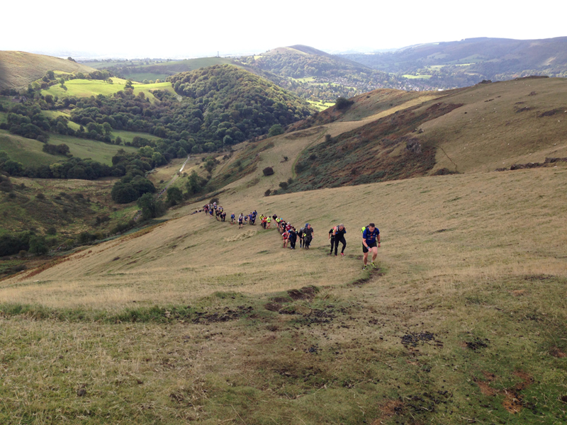 2014 Longmynd Hike Paul Ali 10