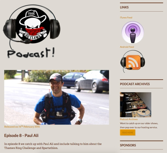 Trail Outlaws Podcast Paul Ali