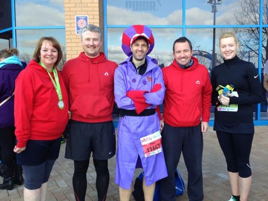 2015 Reading Half Marathon Paul Ali Dick Dastardly 01