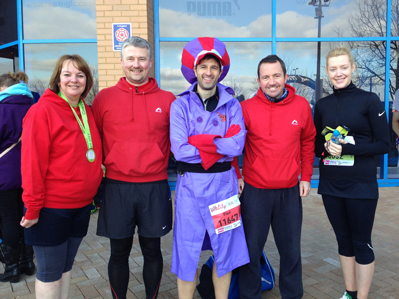 2015 Reading Half Marathon Paul Ali Dick Dastardly 01