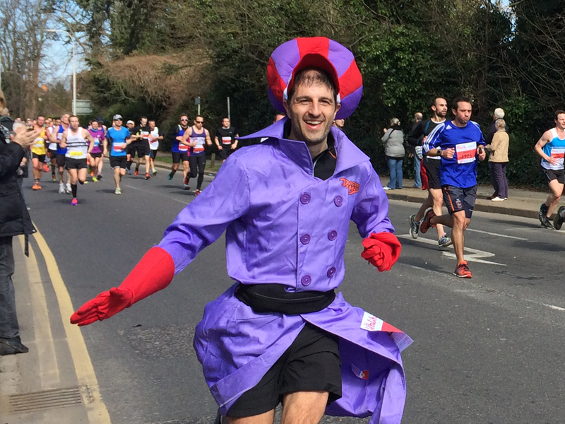 2015 Reading Half Marathon Paul Ali Dick Dastardly 03