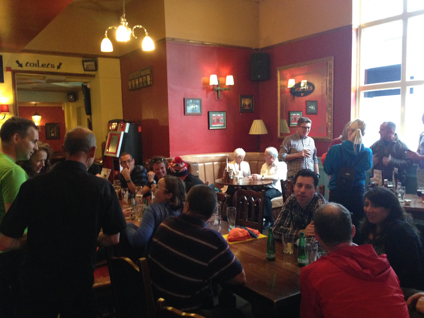 2015 Grand Union Canal Race GUCR Paul Ali Pub Meet