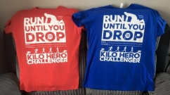 2016 Run Until You Drop Challenget T-Shirts